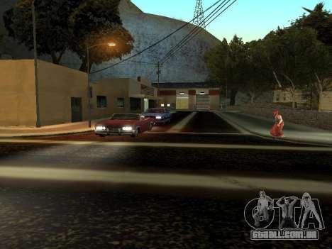 Inverno v1 para GTA San Andreas sexta tela