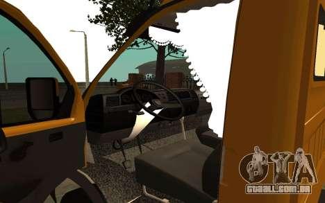 33022 gazela negócios para GTA San Andreas vista traseira