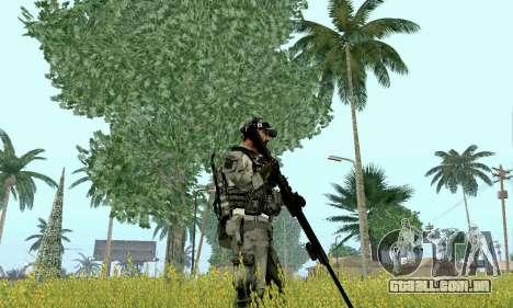 Barrett M82 de Battlefield 4 para GTA San Andreas terceira tela