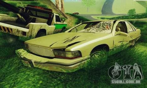 Buick Roadmaster quebrado para GTA San Andreas