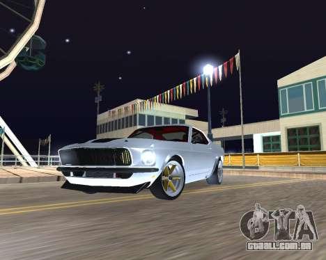 Ford Mustang Anvil para GTA San Andreas esquerda vista