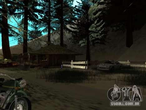 Inverno v1 para GTA San Andreas nono tela