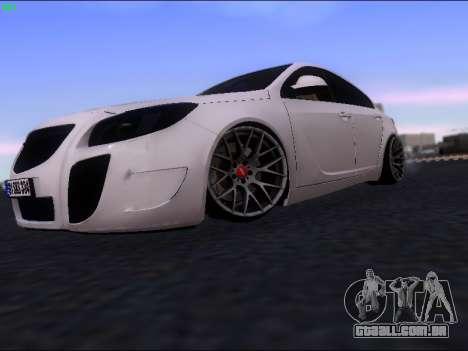 Opel Insignia para GTA San Andreas esquerda vista