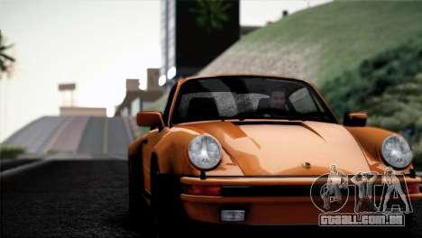 Porsche 911 Turbo 3.3 Coupe 1982 para GTA San Andreas vista interior