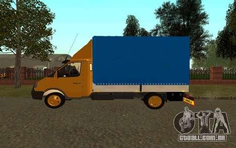 33022 gazela negócios para GTA San Andreas esquerda vista