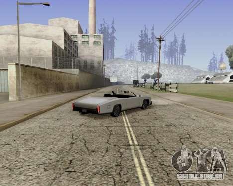 Buccaneer (beta) para GTA San Andreas esquerda vista