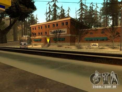 Inverno v1 para GTA San Andreas sétima tela