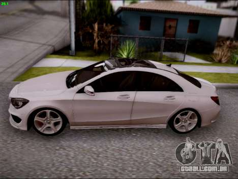 Mercedes-Benz CLA 250 para GTA San Andreas vista interior