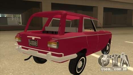 Fiat 1500 Familiar para GTA San Andreas vista direita
