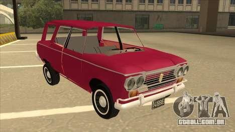 Fiat 1500 Familiar para GTA San Andreas esquerda vista