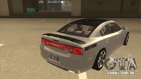 Dodge Charger RT Daytona 2011 V1.0 para GTA San Andreas vista direita