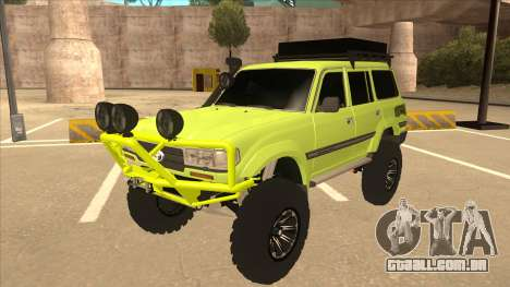Toyota Land Cruiser para GTA San Andreas