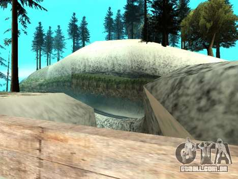 Inverno v1 para GTA San Andreas twelth tela