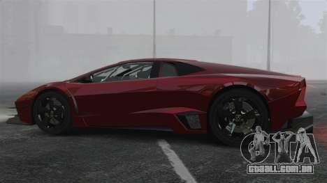 Lamborghini Reventon Body Kit Final para GTA 4 esquerda vista