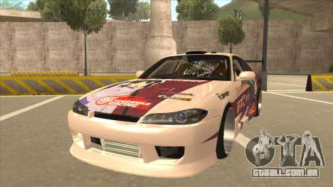 S15 K-ON Itasha para GTA San Andreas