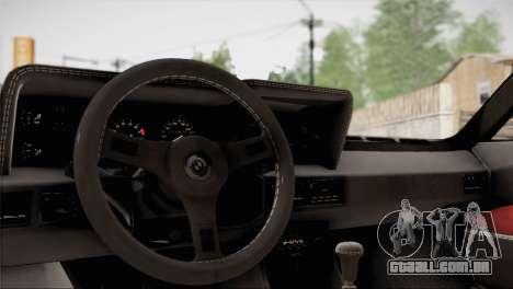 BMW M1 (E26) 1979 para o motor de GTA San Andreas