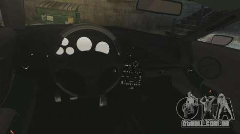 Toyota Supra para GTA 4 vista interior