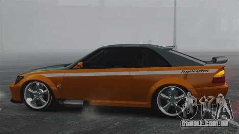 Sultan RS v2.5 para GTA 4 esquerda vista