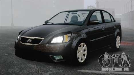 Kia Rio 2009 para GTA 4