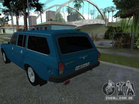 GÁS 311052 para GTA San Andreas vista direita