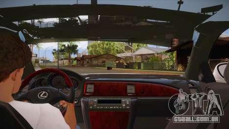 Lexus SC430 2JZ-GTE Black Revel para o motor de GTA San Andreas