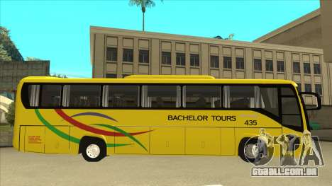 Kinglong XMQ6126Y - Bachelor Tours 435 para GTA San Andreas traseira esquerda vista