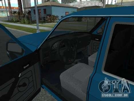 GÁS 311052 para GTA San Andreas vista traseira