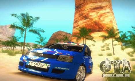 Fiat Panda Rally para GTA San Andreas