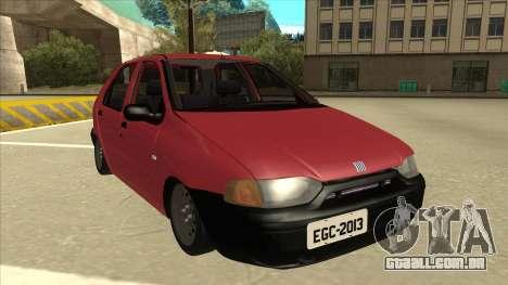 1997 Fiat Palio EDX Edit para GTA San Andreas esquerda vista