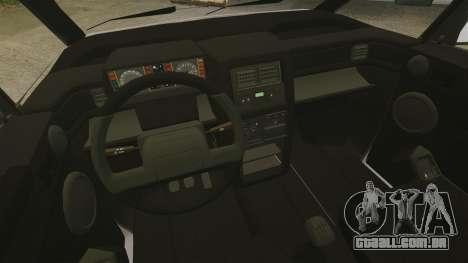 Renault Espace I 2000 TSE para GTA 4 vista interior