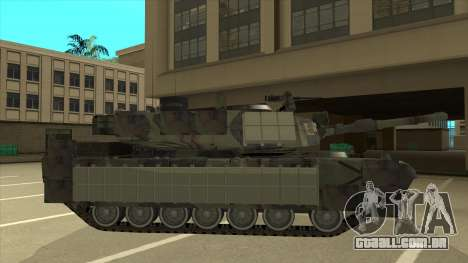 M69A2 Rhino Bosque para GTA San Andreas traseira esquerda vista