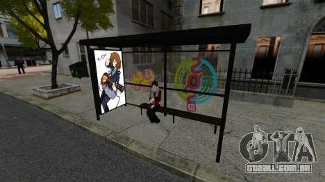 Animação japonesa para GTA 4 terceira tela