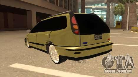 Fiat Marea Weekend para GTA San Andreas vista traseira