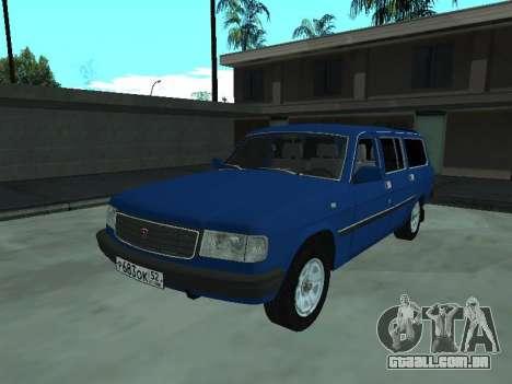 GÁS 31022 para GTA San Andreas