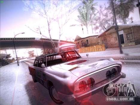 HD Bloodring Banger para GTA San Andreas esquerda vista