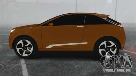 Lada XRay Concept para GTA 4 esquerda vista