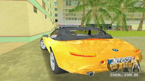 BMW Z8 para o motor de GTA Vice City