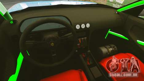 Nissan 240SX para GTA 4 vista de volta