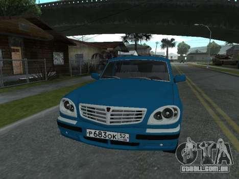 GÁS 311052 para GTA San Andreas esquerda vista