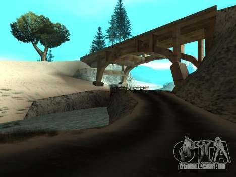 Inverno v1 para GTA San Andreas segunda tela