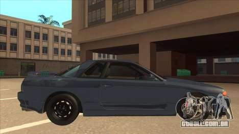 Nissan Skyline GT-S32 Drifter Edition para GTA San Andreas traseira esquerda vista