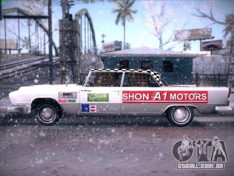 HD Bloodring Banger para GTA San Andreas vista traseira