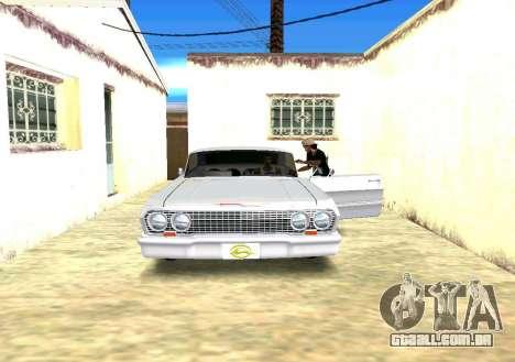 Exchange e César para GTA San Andreas segunda tela
