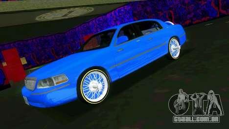 Lincoln Town Car Tuning para GTA Vice City