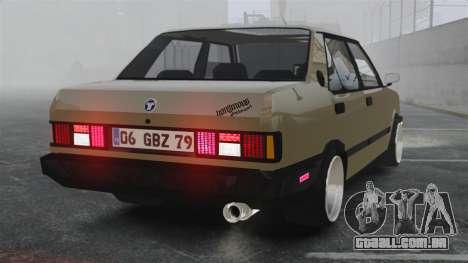 Tofas Dogan SLX para GTA 4 traseira esquerda vista