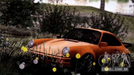 Porsche 911 Turbo 3.3 Coupe 1982 para vista lateral GTA San Andreas