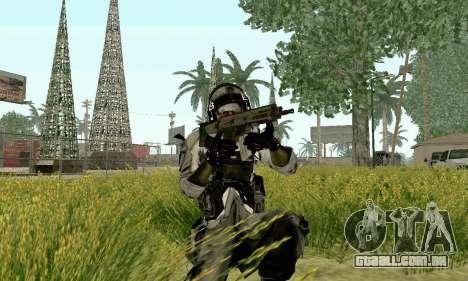 CZ 805 do campo de batalha 4 para GTA San Andreas segunda tela