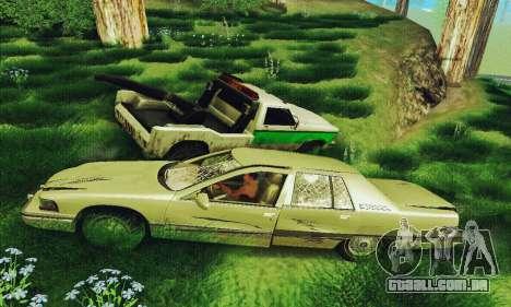 Buick Roadmaster quebrado para GTA San Andreas vista traseira