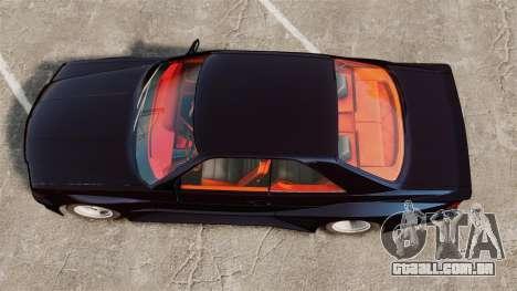 Mercedes-Benz C126 500SEC para GTA 4 vista direita