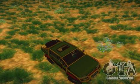 UAZ Patriot Pickup para GTA San Andreas vista superior